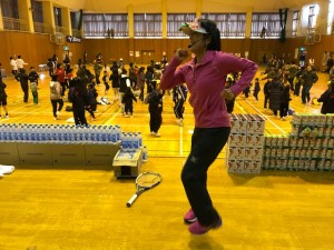 異世代交流テニス体験in 下館【佐藤直子のテニスがすべて】