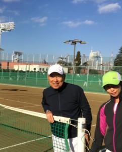 テニス仲間の輪【佐藤直子のテニスがすべて】