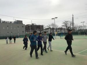 東京国際大学練習【佐藤直子のテニスがすべて】
