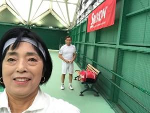 朝練【佐藤直子のテニスがすべて】