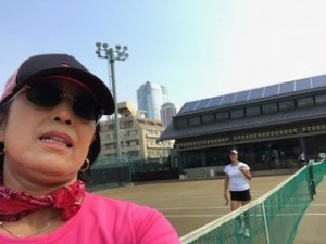 暑すぎて【佐藤直子のテニスがすべて】