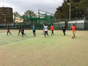 東京国際大学テニス部練習【佐藤直子のテニスがすべて】