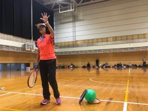 風船競争【佐藤直子のテニスがすべて】