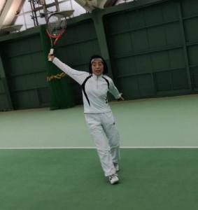 この右目で最後のバックハンド【佐藤直子のテニスがすべて】