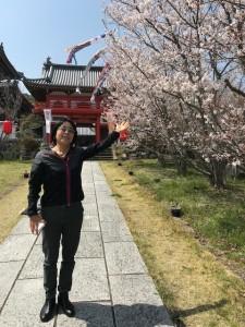 桜満開【佐藤直子のテニスがすべて】