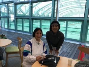 母と【佐藤直子のテニスがすべて】