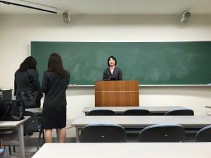 家の近くの女子大での授業開始【佐藤直子のテニスがすべて】