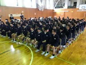 田鶴浜小学校講演【佐藤直子のテニスがすべて】