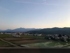 車窓の景色【佐藤直子のテニスがすべて】