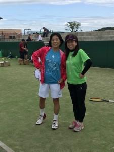 ナナさん&ヒジリン【佐藤直子のテニスがすべて】