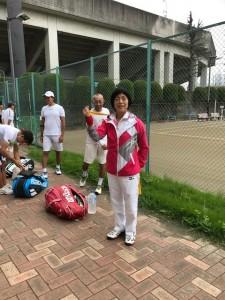 久々の外コート【佐藤直子のテニスがすべて】