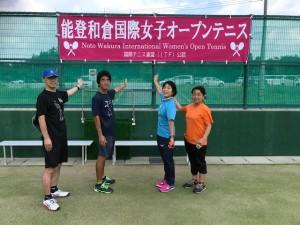 能登和倉国際女子オープンテニスの弾幕【佐藤直子のテニスがすべて】