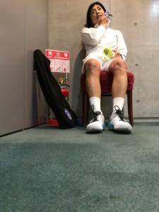 参りました【佐藤直子のテニスがすべて】