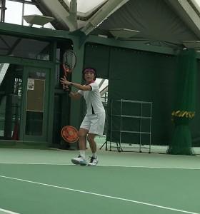 てんてこまい【佐藤直子のテニスがすべて】