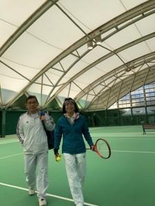 青山修子柴原瑛菜組【佐藤直子のテニスがすべて】