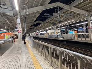昨晩の京都駅【佐藤直子のテニスがすべて】