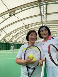 母のテニス【佐藤直子のテニスがすべて】
