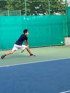 ハードコート練習【佐藤直子のテニスがすべて】