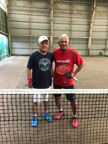 上村先生とのテニス【ちょい不良オヤジ・西尾茂之の辛口blog】