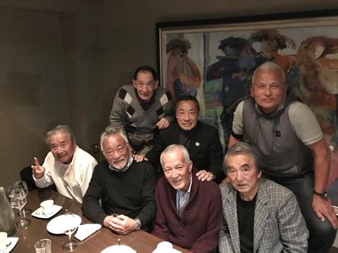 渡辺功、康二先輩の喜寿のお祝い【ちょい不良オヤジ・西尾茂之の辛口blog】