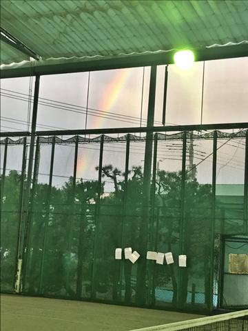 雨が止み、虹が...【ちょい不良オヤジ・西尾茂之の辛口blog】