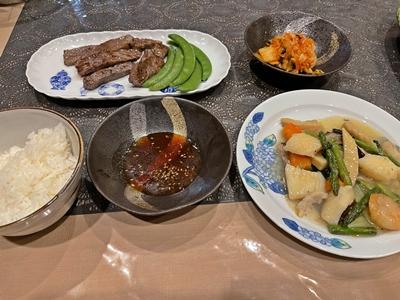 コロナ禍での我が家の夕食【ちょい不良オヤジ・西尾茂之の辛口blog】