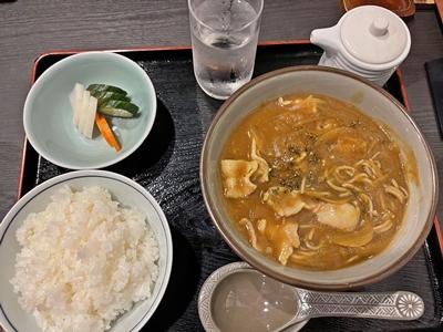 安曇野のカレー蕎麦【ちょい不良オヤジ・西尾茂之の辛口blog】