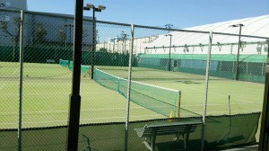 tenniscort