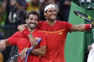 Rafael Nadal,Marc Lopez