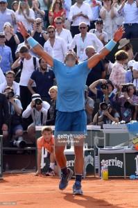 <> at Roland Garros on June 8, 2018 in Paris, France.
