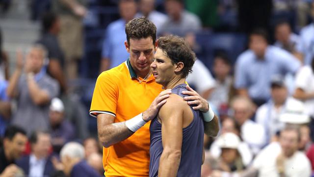 20180907 Rafael Nadal v Juan Martin Del Potro - Day 12