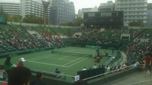 会場のITC靭テニスセンター