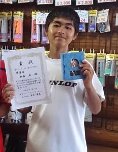 広 東京ジュニアサーキット準優勝