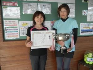 1st ビギナー優勝 高倉・野々村blog