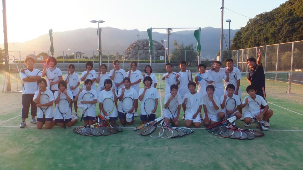 内海中学校テニス部2