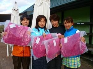 金本組(新井さん・窪田さん・柳本さん・金本さん)
